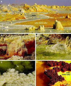 Nanobatteri Estremi nel Vulcano Dallol in Etiopia